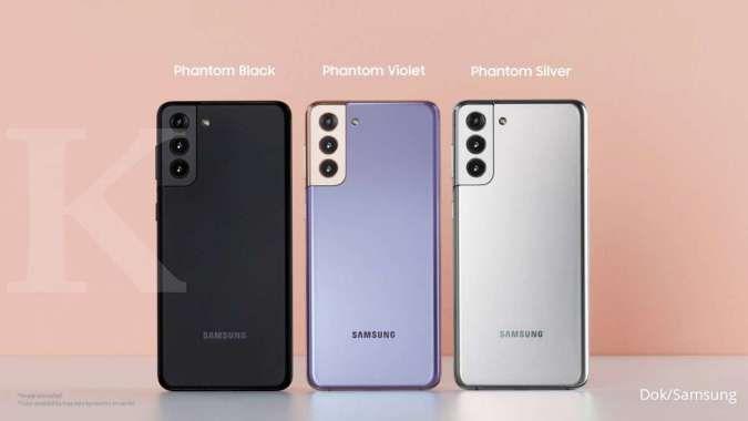 Varian warna Samsung Galaxy S21+