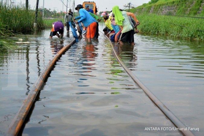 Akibat banjir, 7 jadwal keberangkatan KA dari Jakarta hari ini dibatalkan