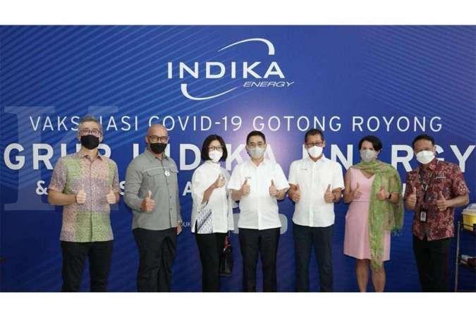 Indika Energy Group Dukung Program Vaksinasi Gotong Royong
