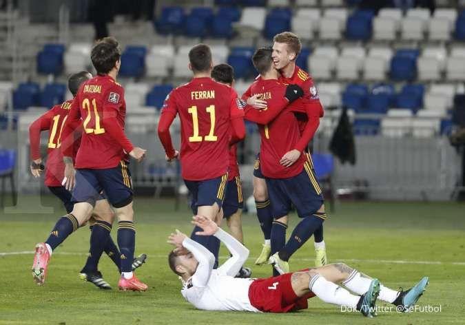 Spanyol vs Portugal: La Furia Roja uji taktik kontra Selecao jelang Euro 2021