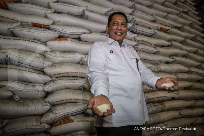 Pada tahun ini, Bulog yakin tak perlu mengimpor beras