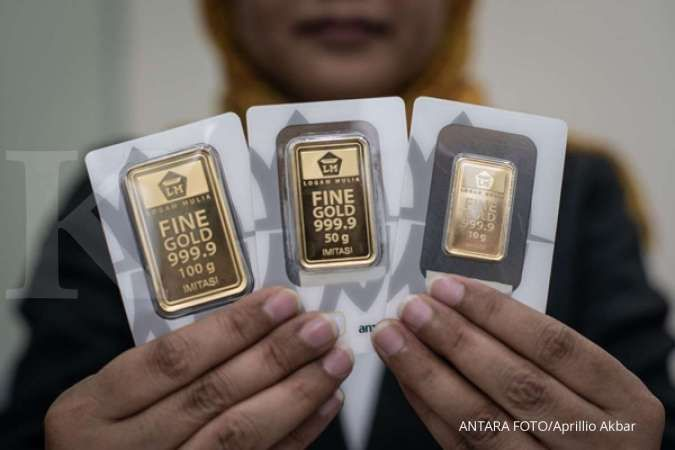 Harga emas Antam turun, peluang membeli dengan harga lebih murah