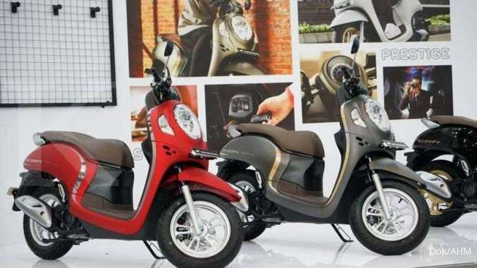 harga motor All New Scoopy