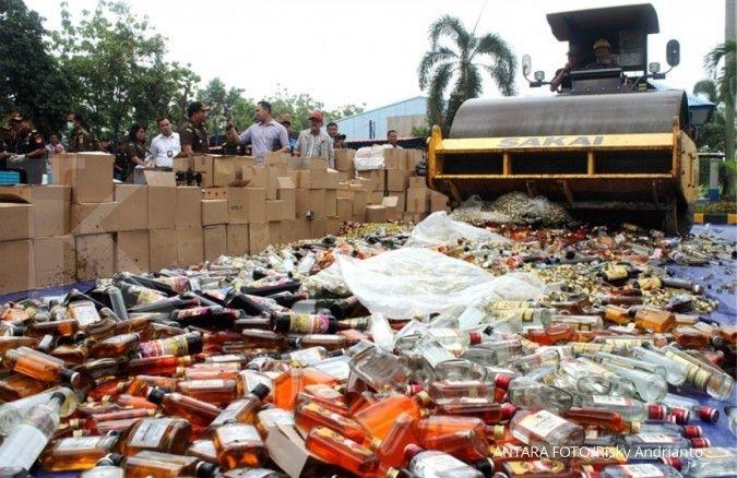 Pengumuman! BPOM melarang penjualan minuman beralkohol secara online