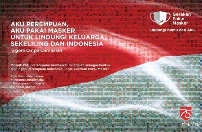 GPM klaster perempuan ajak ibu Indonesia disiplin bermasker, cegah penyebaran Covid19