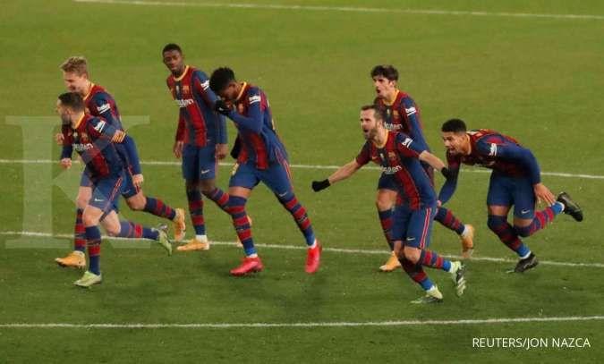 Cornella vs Barcelona di Copa Del Rey: Blaugrana bisa senasib dengan Atletico