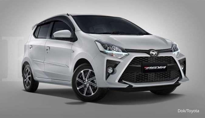 Intip harga mobil bekas Toyota Agya tahun muda di bawah Rp 100 juta per Juli 2021