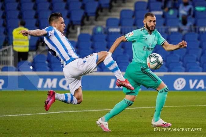 Andoni Gorosabel, jelang laga Real Sociedad vs Barcelona