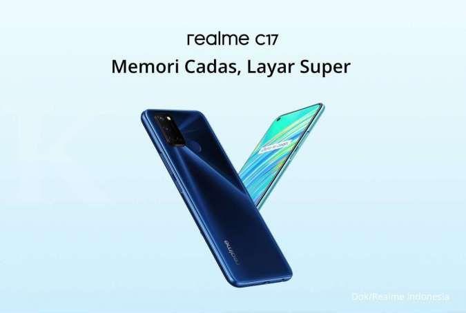 Dilengkapi RAM 6GB, harga Realme C17 jadi yang termurah di kelasnya