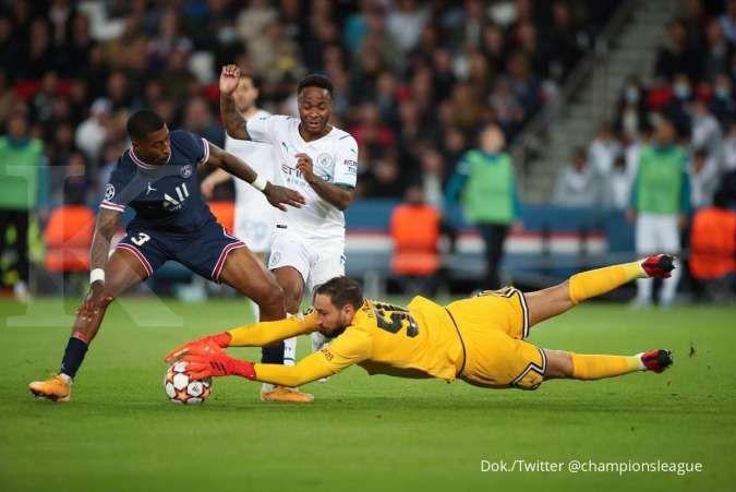 Hasil Liga Champions PSG vs Man City: Les Parisiens bungkam The Citizens 2-0