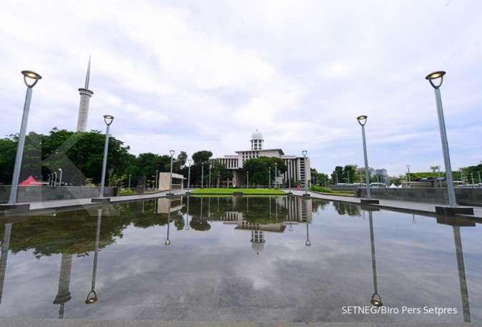 Ada proyek terowongan Silaturahmi, jalan sekitar Istiqlal dan Katedral akan dialihkan
