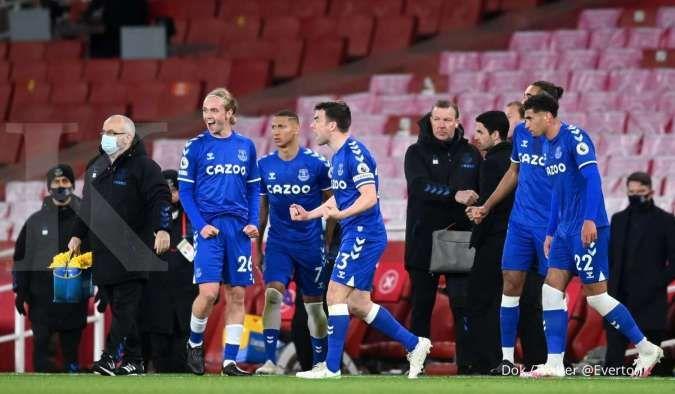 Arsneal vs Everton: Tekuk The Gunners 0-1, The Toffees pecahkan rekor baru