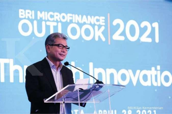 Bank Mikro Sejati, BRI Kejar Porsi Kredit Mikro Hingga 45% pada 2025