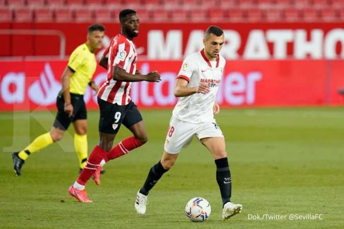 Hasil laga Sevilla vs Athletic Bilbao di Liga Spanyol