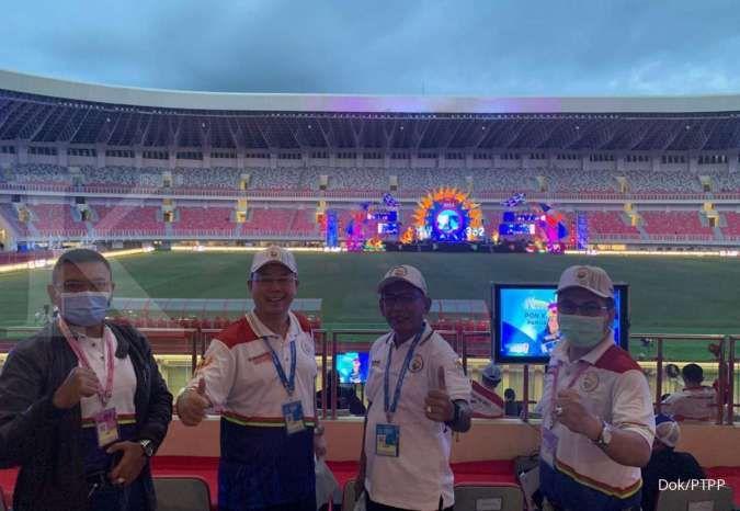 Stadion Papua Bangkit yang diselesaikan PTPP tahun lalu, diresmikan hari ini