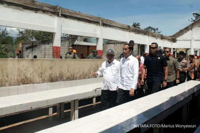 Kementerian PUPR selesaikan rekonstruksi pasar Wouma di ...