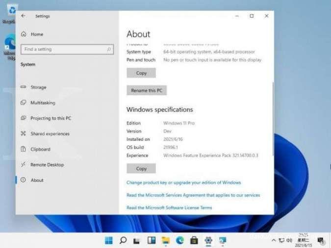 Bocoran penampakan Windows 11