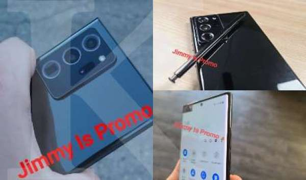 Ini wujud Samsung Galaxy Note 20 Ultra, punya bezel super tipis