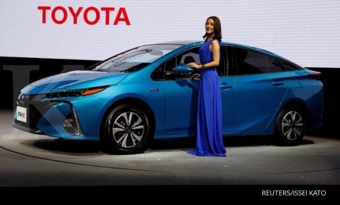 Penjualan ritel kendaraan listrik Toyota di Indonesia sudah sekitar 3.000 unit