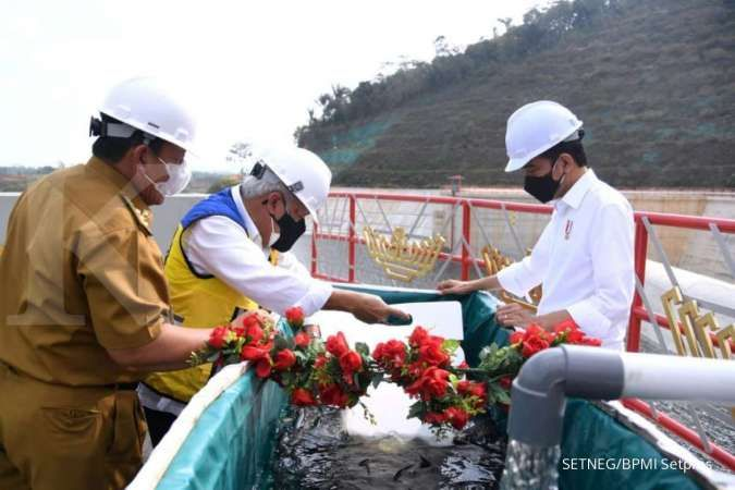 Selesai tepat waktu, PTPP Telah rampungkan proyek Pembangunan Bendungan Way Sekampung