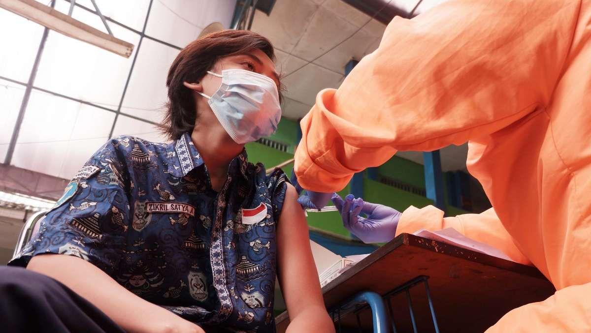 Target 32,6 juta anak terima vaksin Covid-19