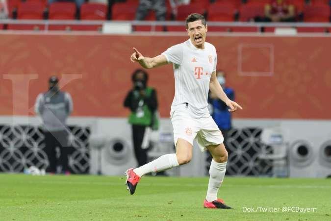 Robert Lewandowski jelang laga Bayern Munchen vs Tigres dI Piala Dunia Antarklub FIFA