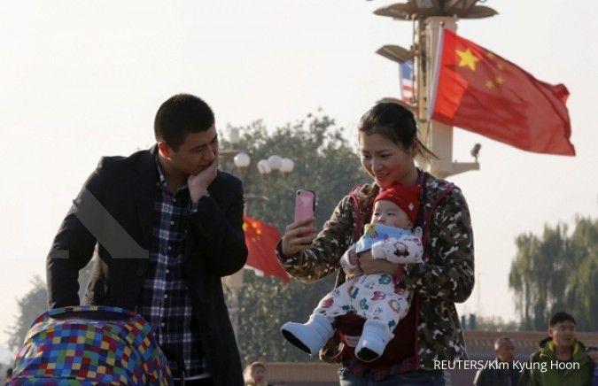 Jumlah penduduk China diramal mencapai puncaknya pada 2029