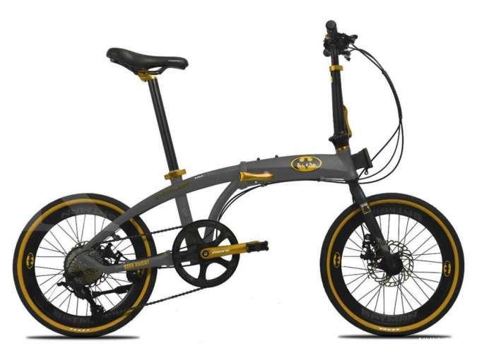 Anda penggemar Batman? Harga sepeda lipat Pacific Noris Batman ramah di kantong