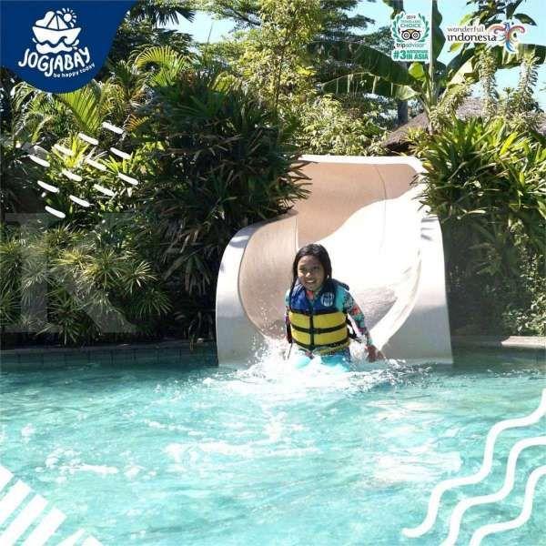 Punya fasilitas lengkap, Jogja Bay Waterpark cocok untuk wisata keluarga