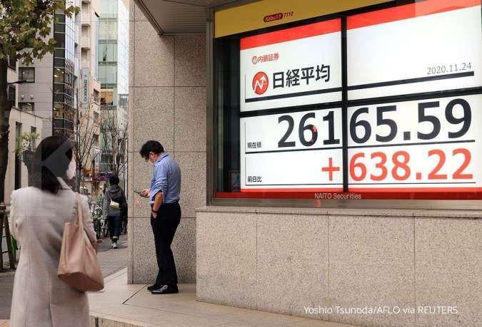 Bursa Asia lanjutkan reli pada Jumat (11/6) usai kekhawatiran inflasi AS mereda
