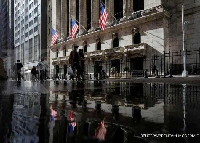 Kinerja perbankan besar ciamik, indeks S&P 500 dan Nasdaq malah koreksi