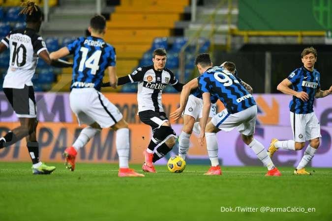 Hasil pertandingan Parma vs Inter Milan di Liga Italia Serie A