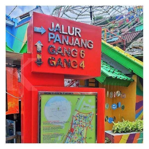 Uniknya Kampung Pelangi Semarang, perkampungan padat warna-warni yang instagramable