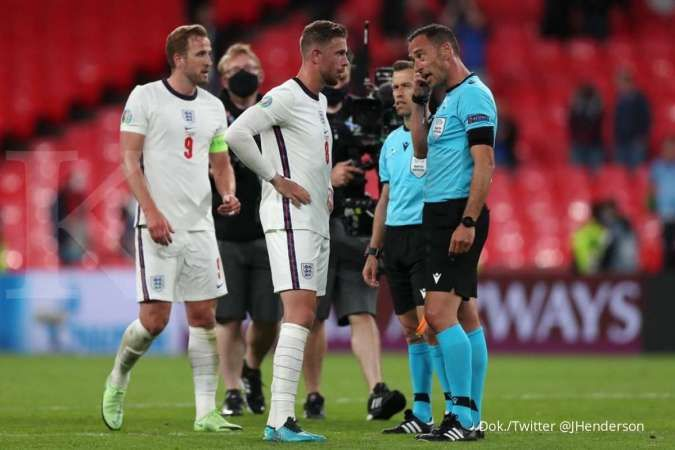 Jelang Inggris vs Jerman, kapten Liverpool meminta Three Liones tetap fokus di babak 16 besar Euro 2020