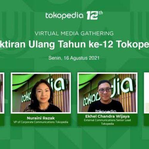 Rayakan HUT ke-12, Ini Daftar Traktiran Tokopedia untuk Indonesia