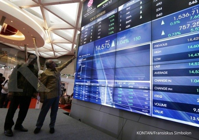 Harga saham BCA (BBCA) naik 0,78% sehari, cek PER dan PBV-nya