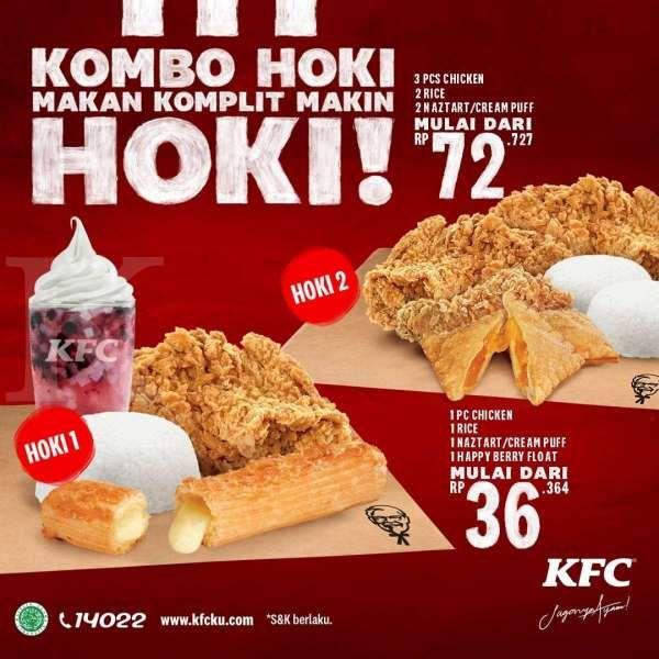Promo KFC periode 1-12 Maret 2021