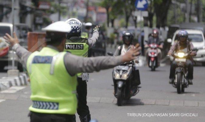 Selama 14 hari Operasi Keselamatan Jaya, 72.389 kendaraan terjaring razia