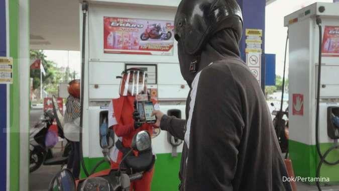 Transaksi non-tunai di SPBU Surabaya meningkat lima kali lipat