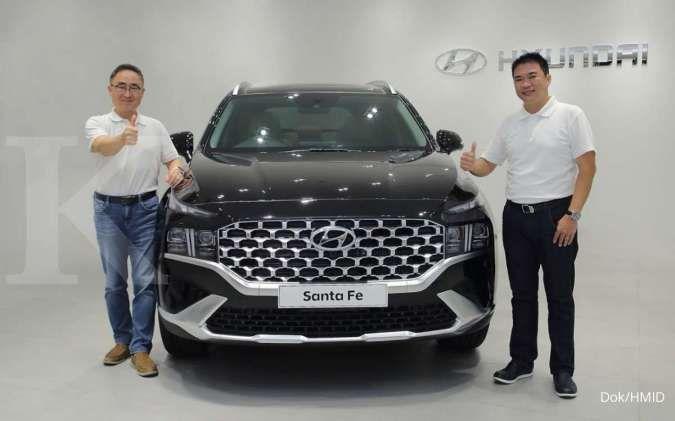 Hyundai New Santa Fe dibanderol mulai Rp 569 juta