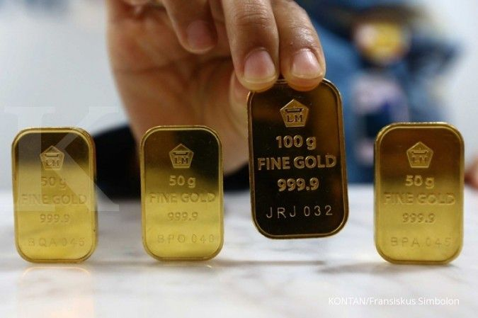 Antam menaikkan harga buyback emas