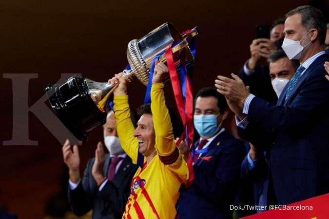 Athletic Bilbao vs Barcelona: Bungkam Los Leones 0-4, Blaugrana juara Copa del Rey