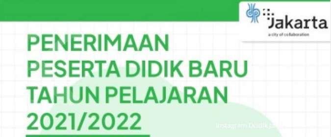 Prapendaftaran PPDB Jakarta tahun ajaran 2021/2022, berikut syarat dan tata caranya