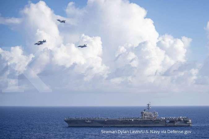 Kapal induk AS di Laut China Selatan, China: Ini tidak kondusif untuk perdamaian