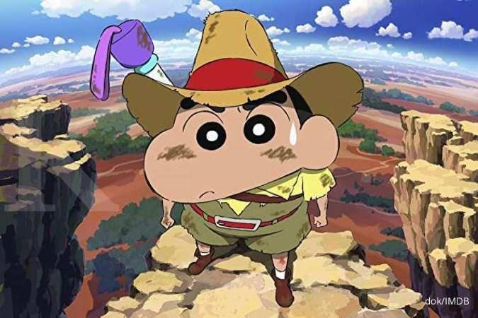 Baru tayang tiga hari, film anime Crayon Shin-chan raih pendapatan US$ 2,4 juta