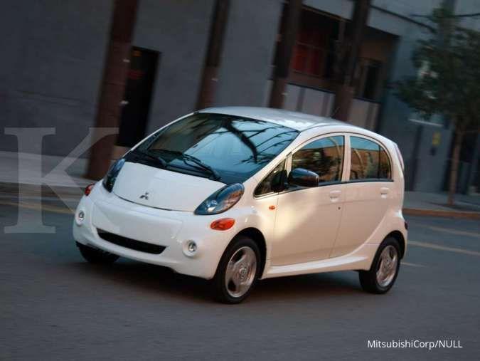 Nissan dan Mitsubishi rencanakan rilis mobil listrik murah (Mitsubishi i-MIEV)