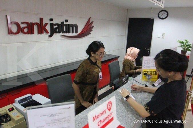 Bank Jatim (BJTM) akan bagikan 49,26% dari laba tahun 2020 sebagai dividen