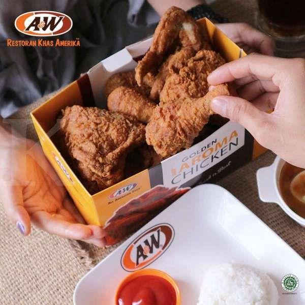 Promo A&W 7 April 2021, makan hemat harga mulai Rp 29.500