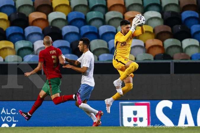 Hasil laga Portugal vs Israel di uji coba Euro 2021