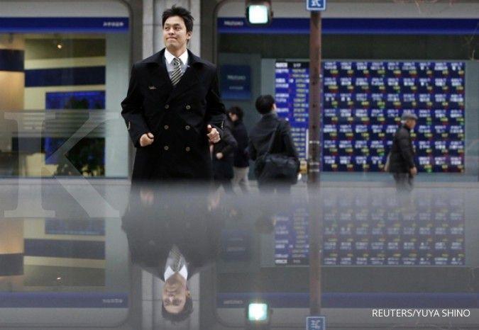 Pergerakan positif bursa Asia memasuki hari kelima